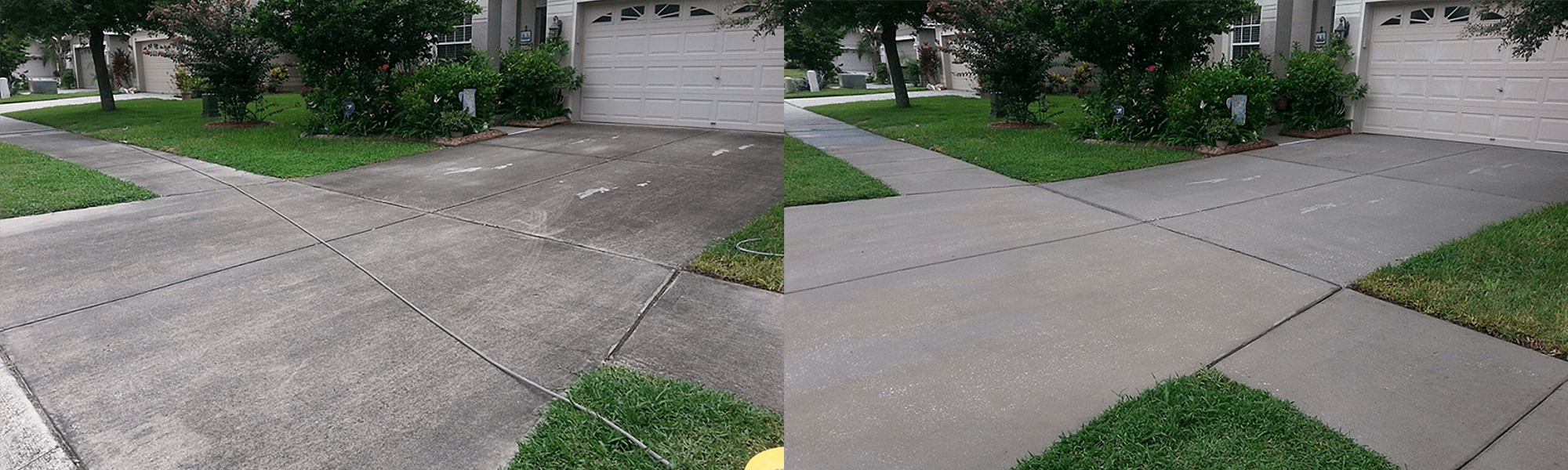 Roof power washing driveway pressure washing vero beach for Driveway pressure washer